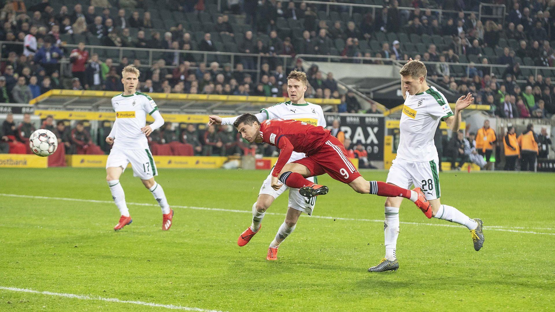 Die zehn Top-Tore des Duells Gladbach gegen Bayern
