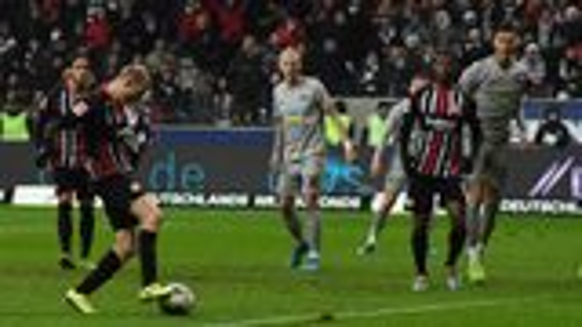 Rode rettet Frankfurt einen Punkt gegen Hertha