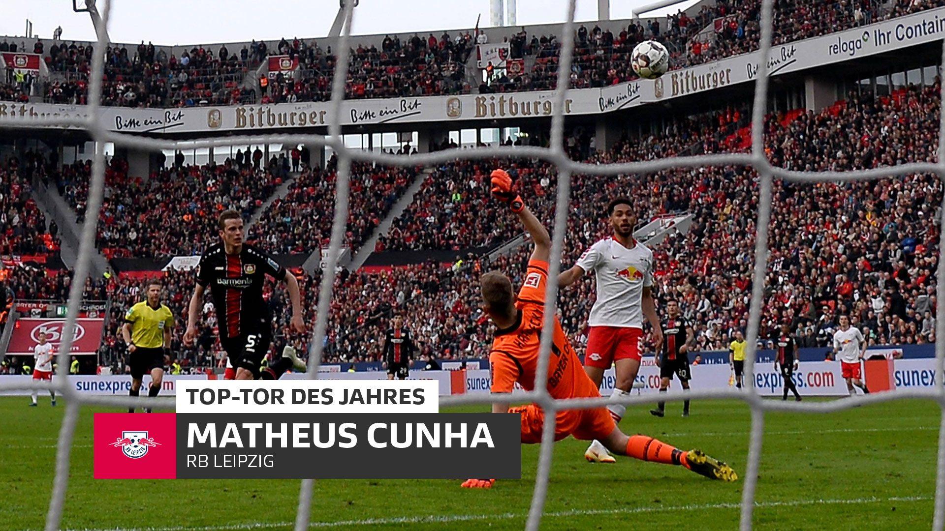 Matheus Cunha erzielt das Top-Tor des Jahres 2019