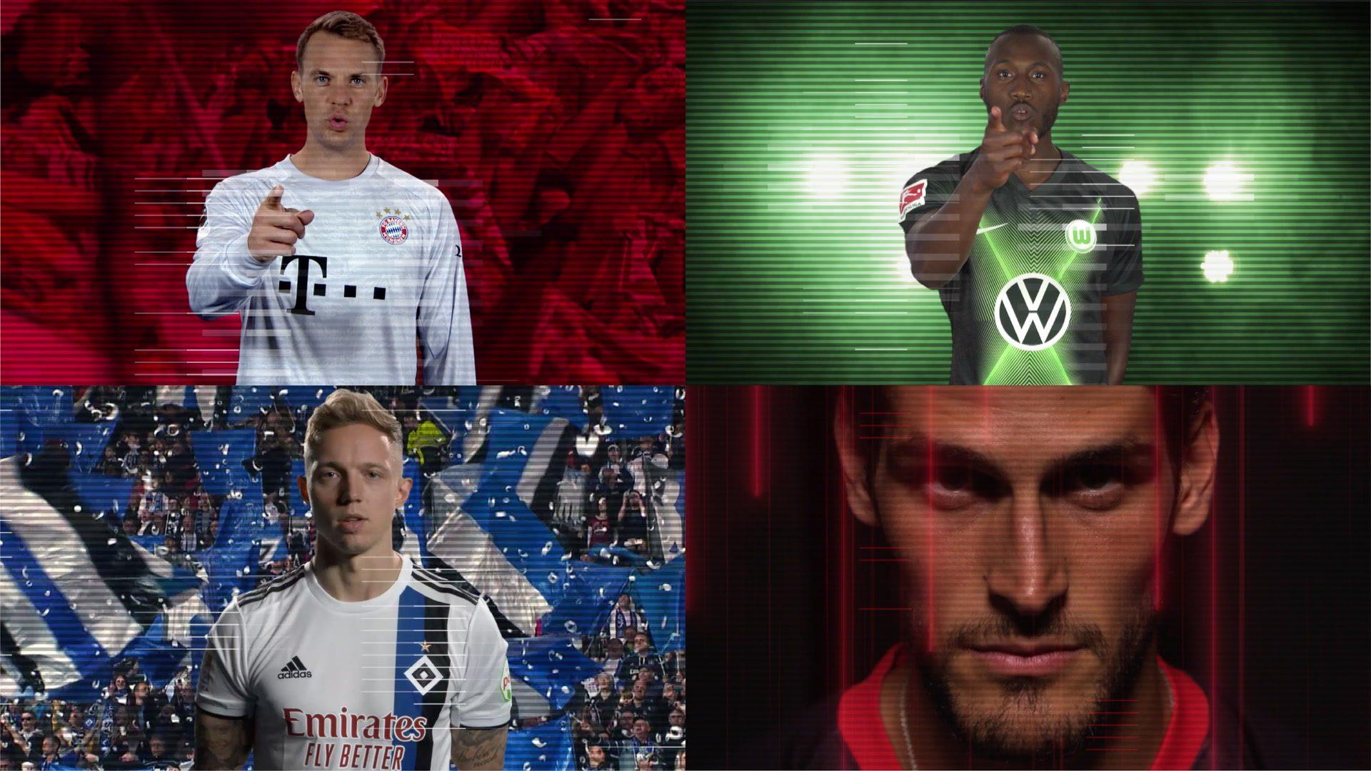 """""""Du bist nie allein"""" - Bundesliga-Stars danken den Fans"""