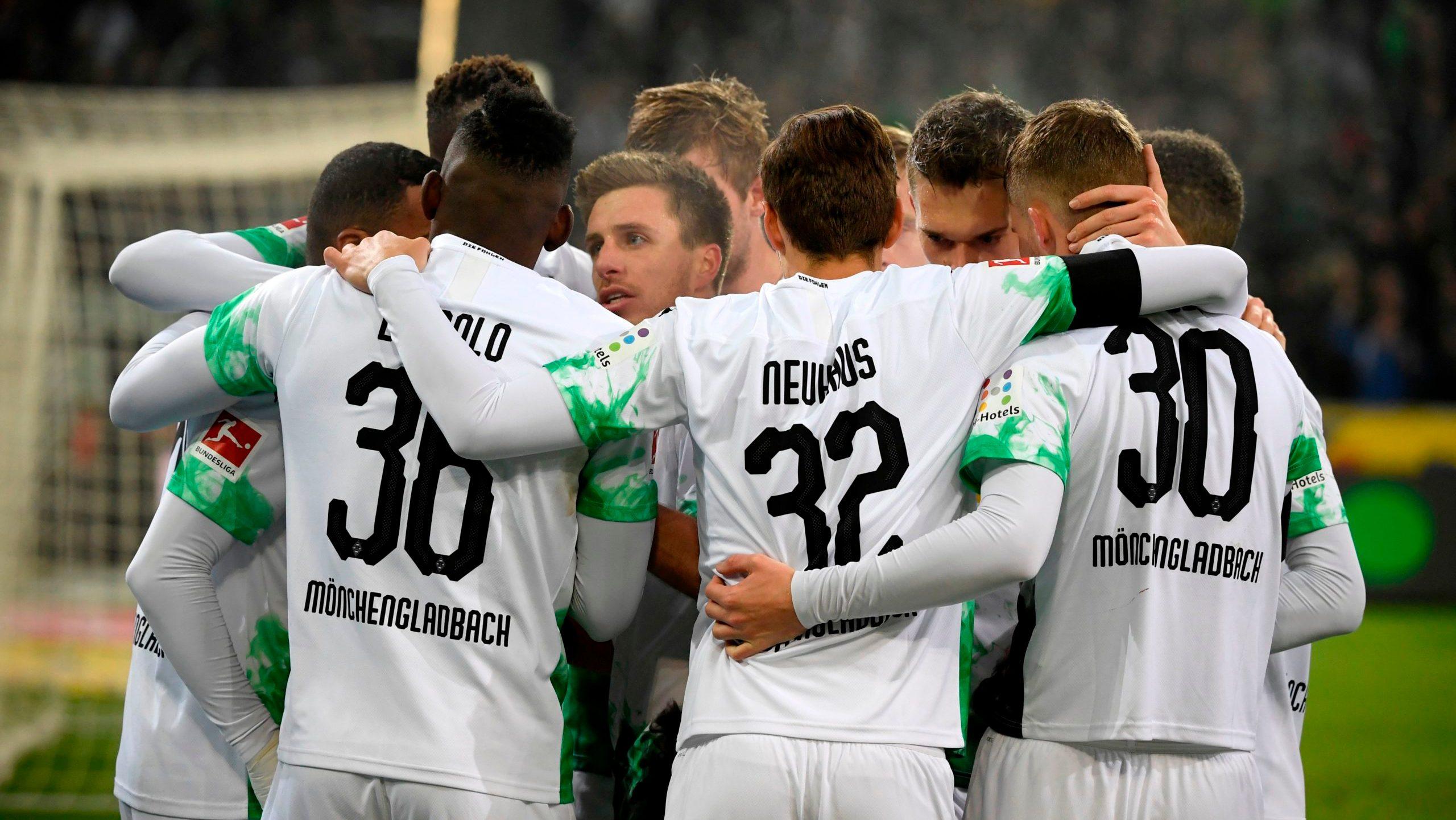 Mönchengladbach meldet sich im Titelrennen zurück