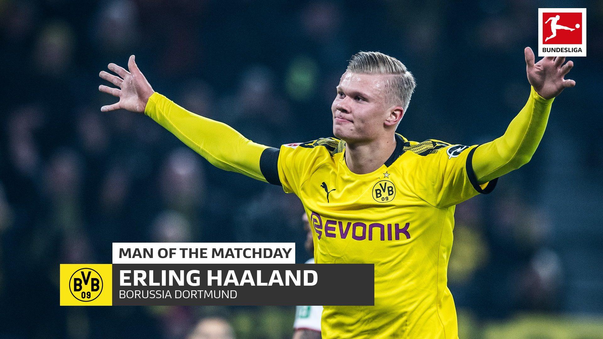Bundesliga How Erling Haaland Has Given Borussia Dortmund A Tactical Advantage In Attack