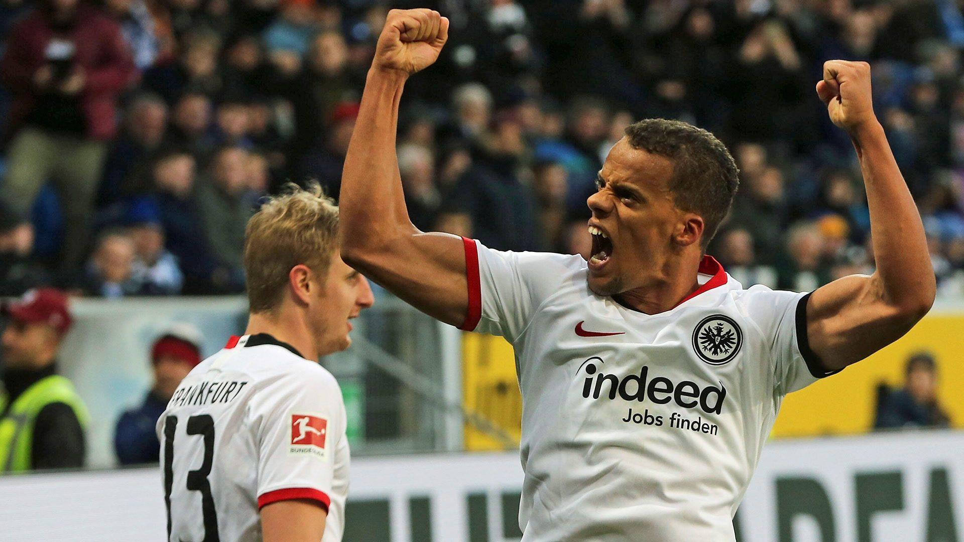 Chandler heads Frankfurt past Hoffenheim