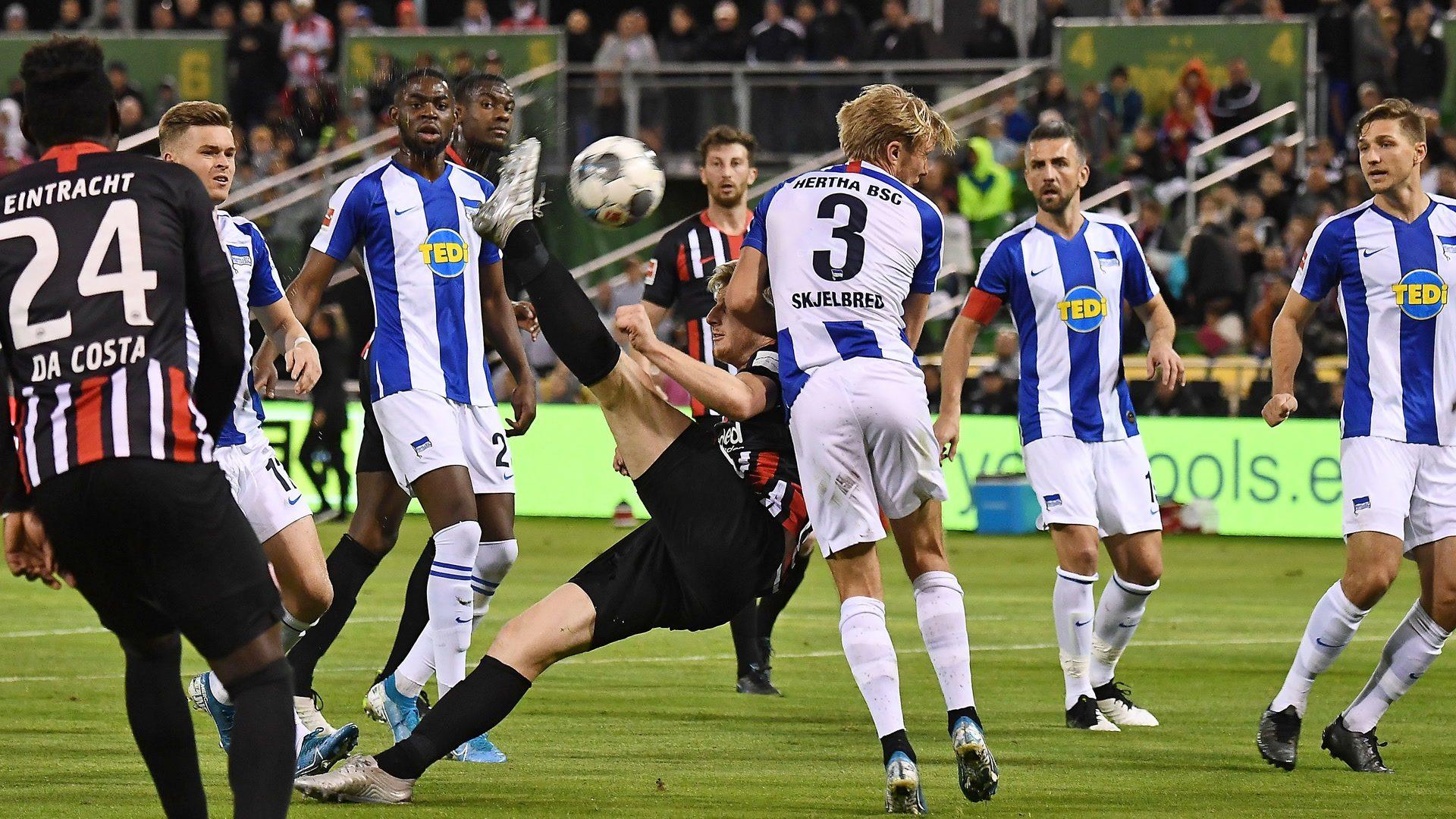 Hertha overcome Frankfurt in Florida exhibition match