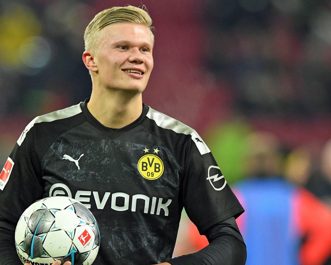 The numbers behind Haaland's record-breaking Dortmund debut