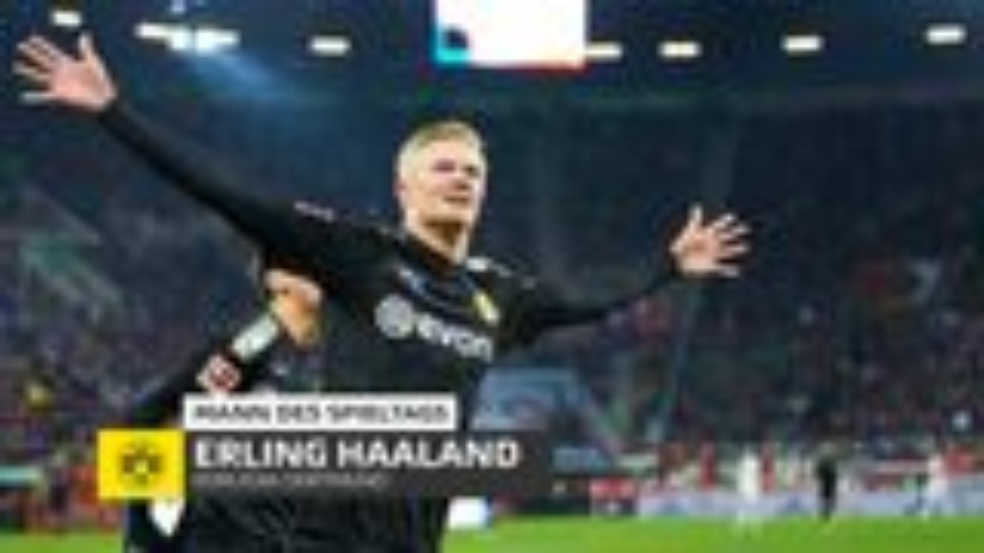 """""""Gamechanger"""" Haaland schießt Borussia Dortmund zum Sieg"""