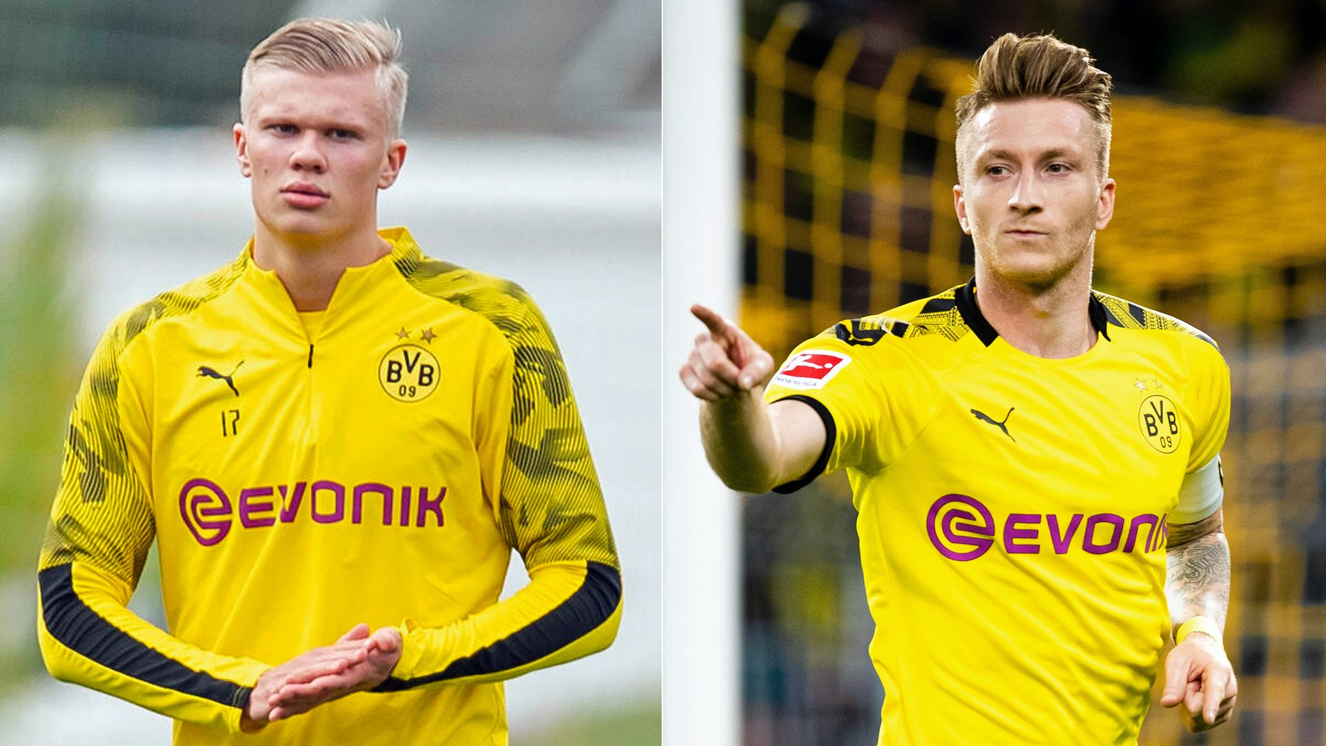 Bundesliga Marco Reus On Erling Haaland We Haven T Had That Kind Of Striker Since Robert Lewandowski