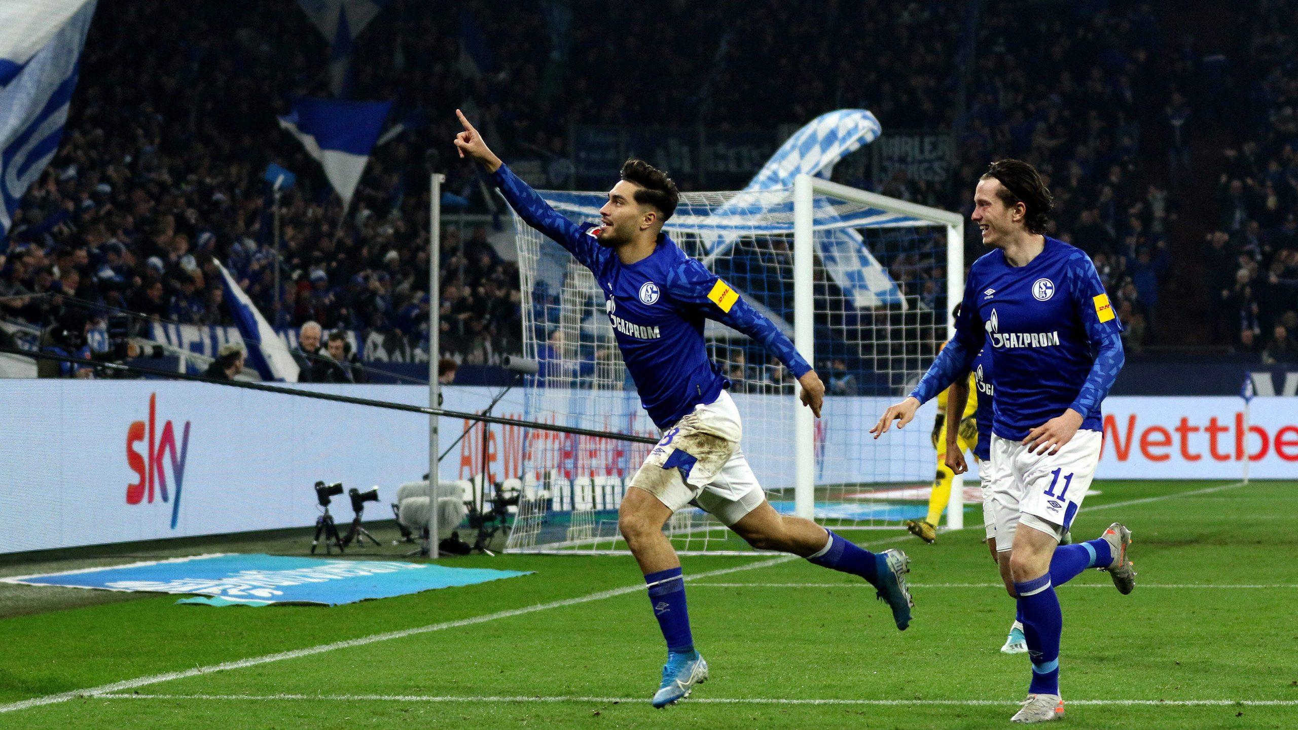 Serdar and Gregoritsch on target as Schalke beat Gladbach