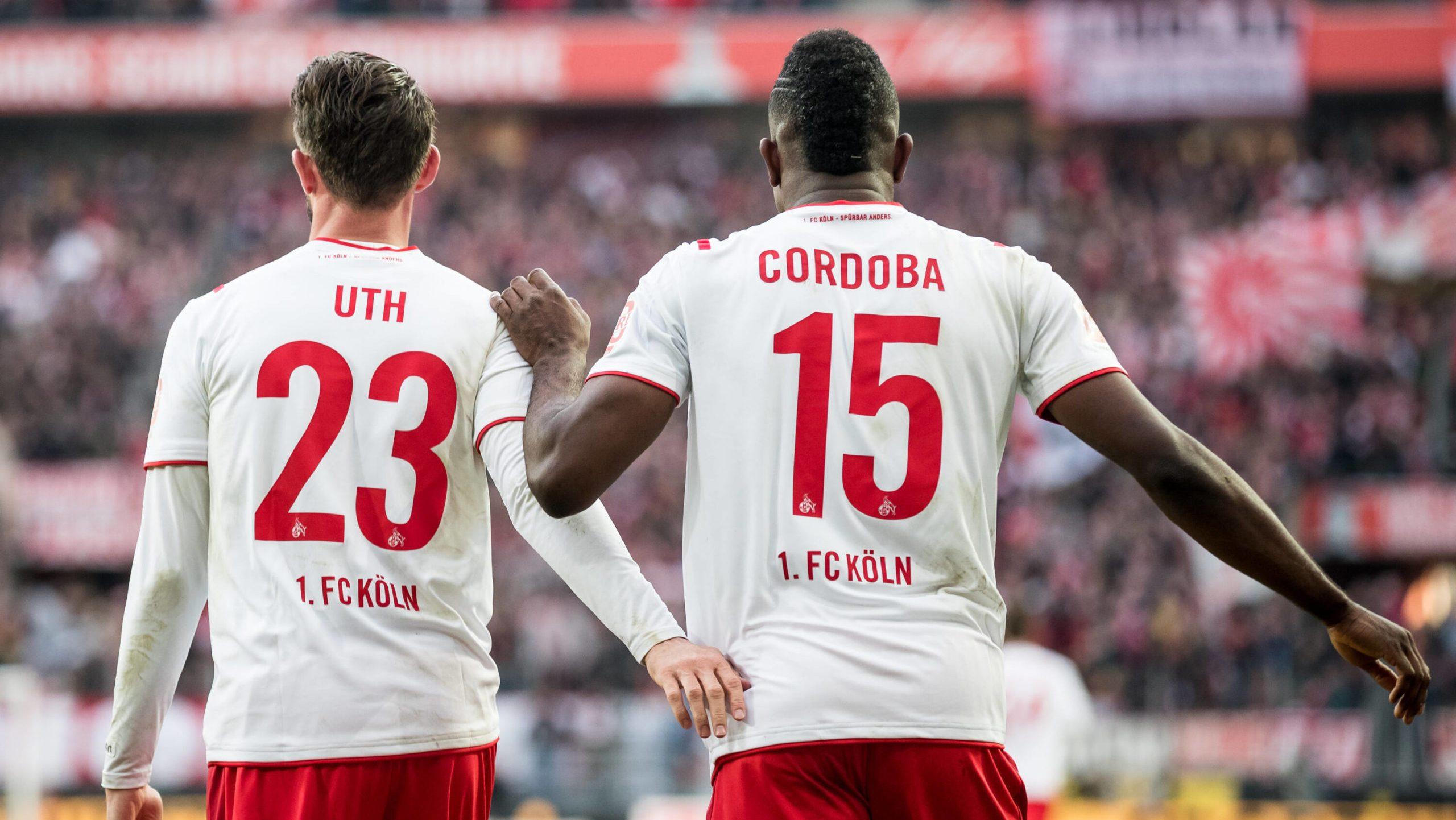 Uth legt auf, Cordoba trifft: Köln setzt Höhenflug fort