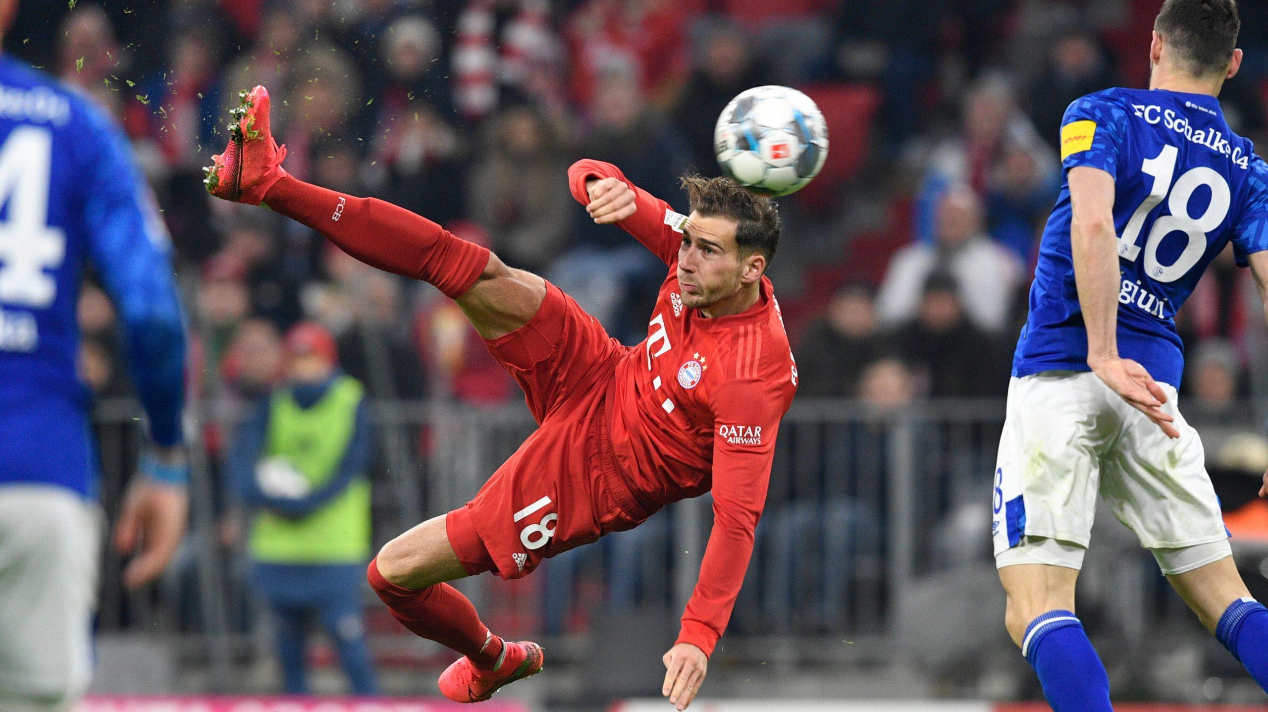 FC Bayern: Goretzka überragt gegen Schalke