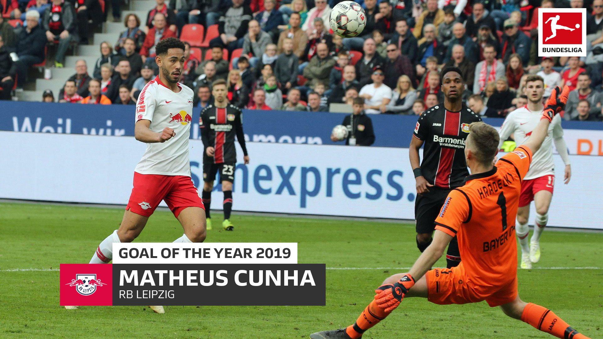Leipzig's Cunha wins Bundesliga Goal of the Year 2019!