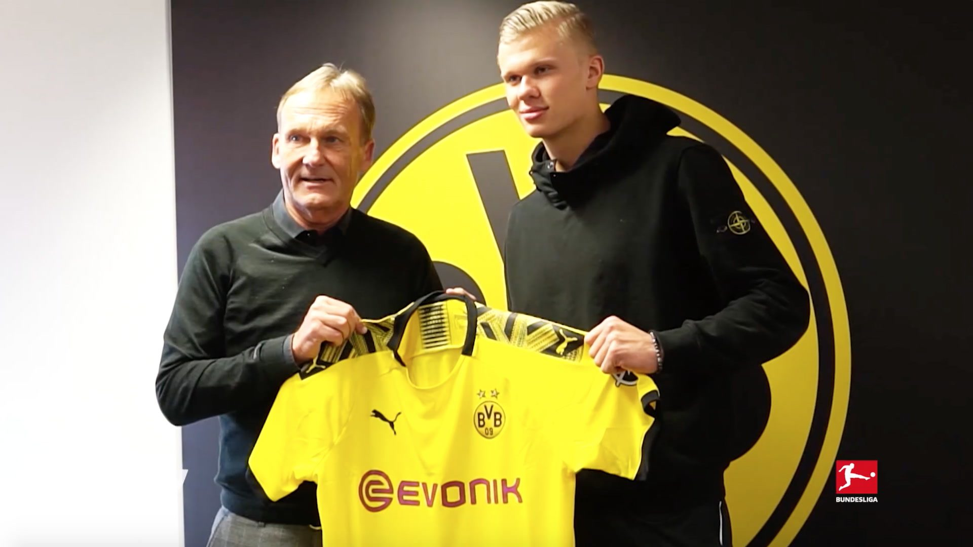 Bundesliga Borussia Dortmund Sign Erling Haaland From Red Bull Salzburg