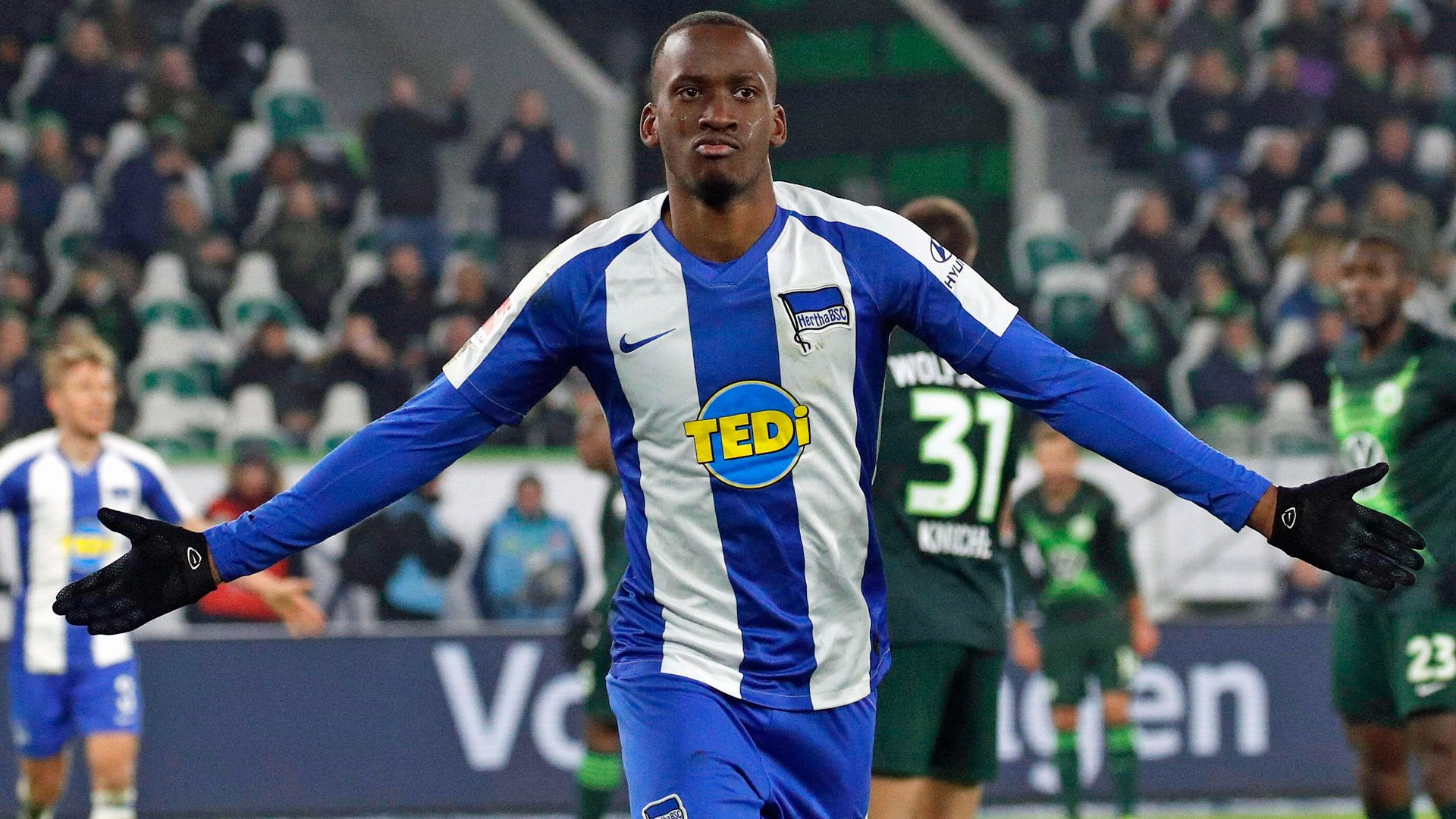 Bundesliga | Dodi Lukebakio strikes at the death as Hertha Berlin stun  dominant Wolfsburg