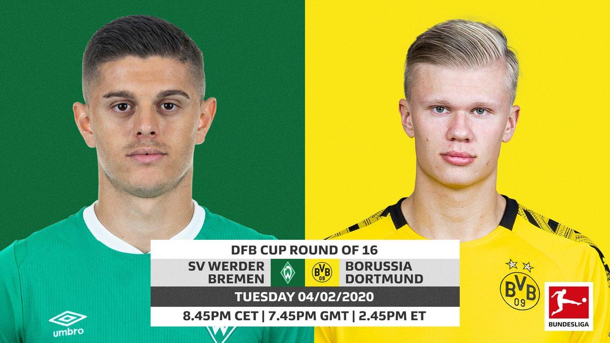 Werder Bremen vs Dortmund, 05/02/2020