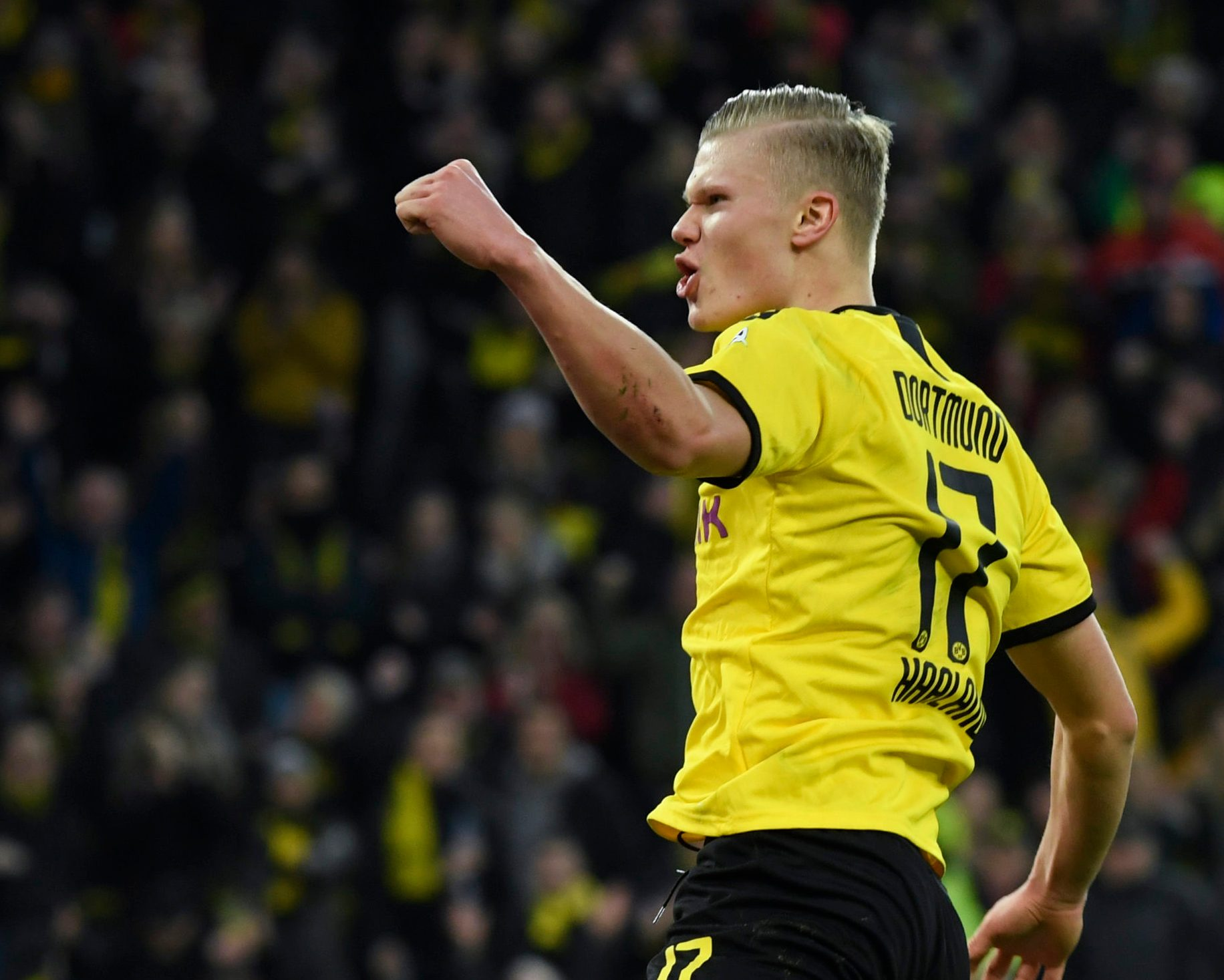 Bundesliga Erling Haaland Nothing Compares To Scoring In Front Of Borussia Dortmund S Yellow Wall