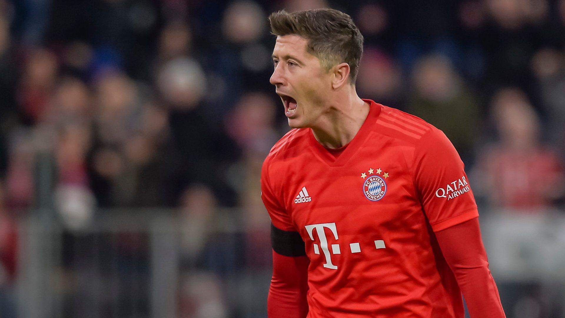 Lewandowski spares Bayern's blushes