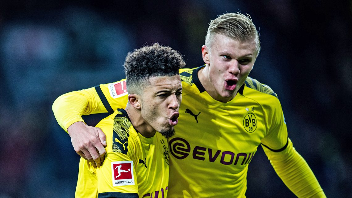 "Bundesliga | Erling Haaland: ""I clicked with Jadon Sancho, Marco ..."