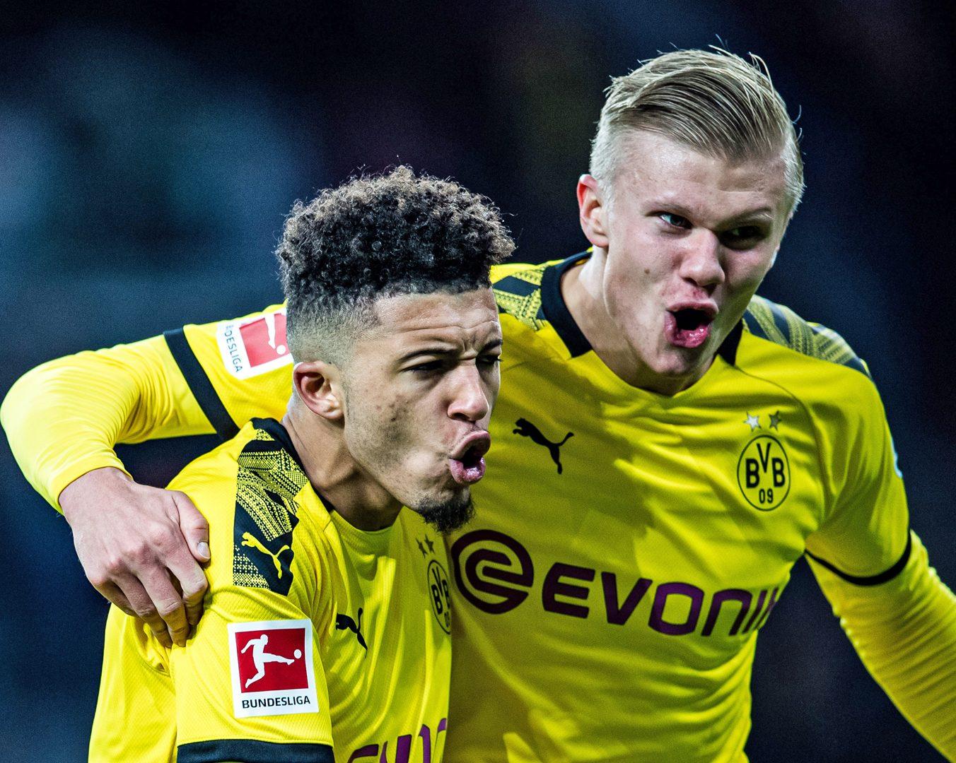 Bundesliga Erling Haaland I Clicked With Jadon Sancho Marco Reus And Thorgan Hazard Straight Away