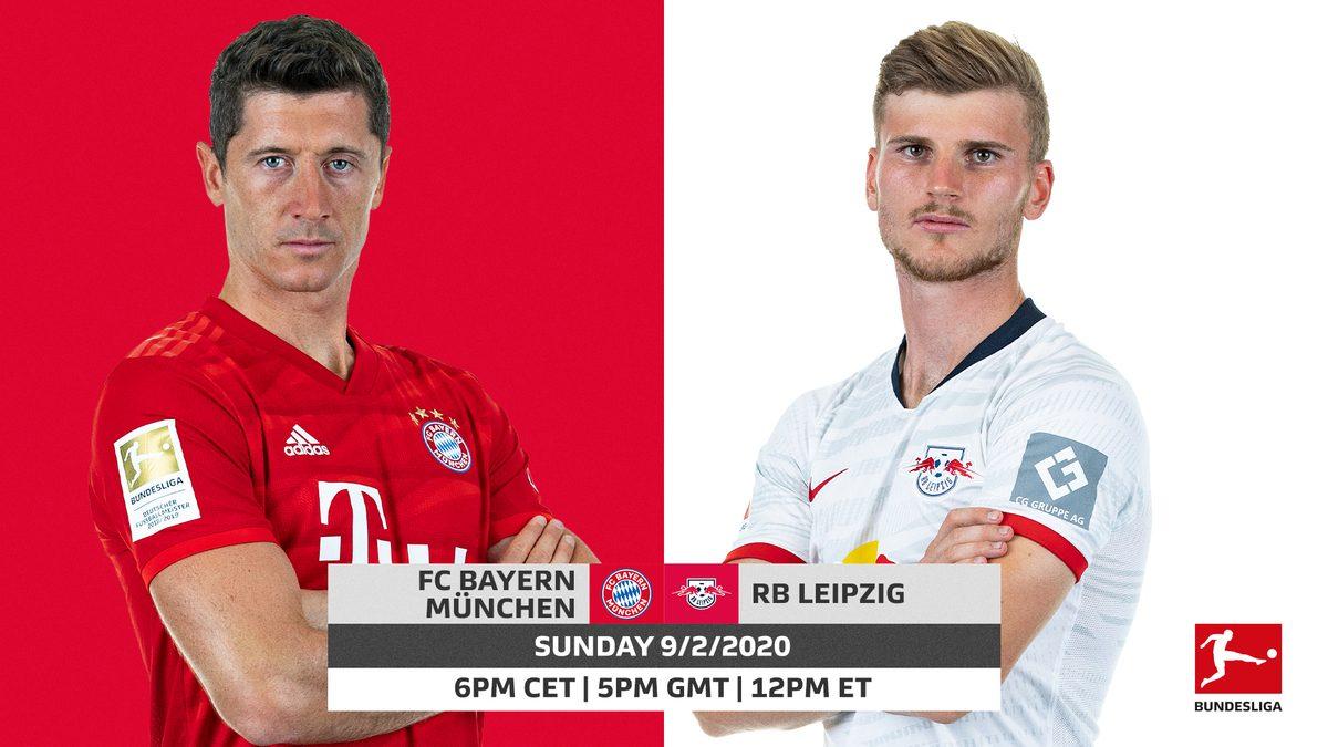 Soi kèo Bayern Munich vs RB Leipzig, Bundesliga – 09/02/2020
