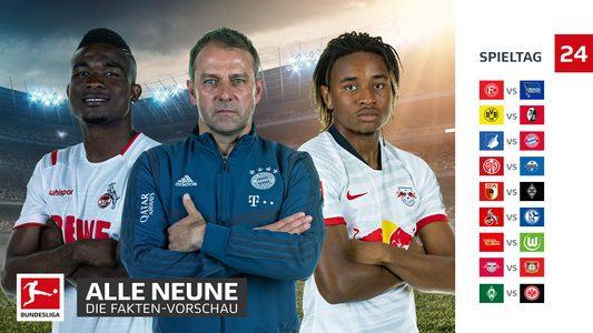 Bundesliga Spieltag 24