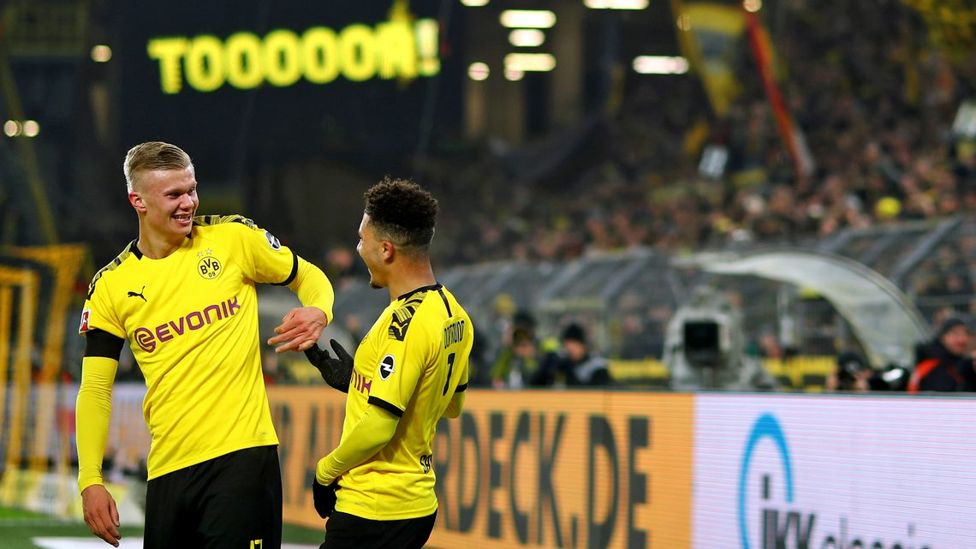 Bundesliga   Sancho + Haaland: ¡pareja explosiva en el BVB!