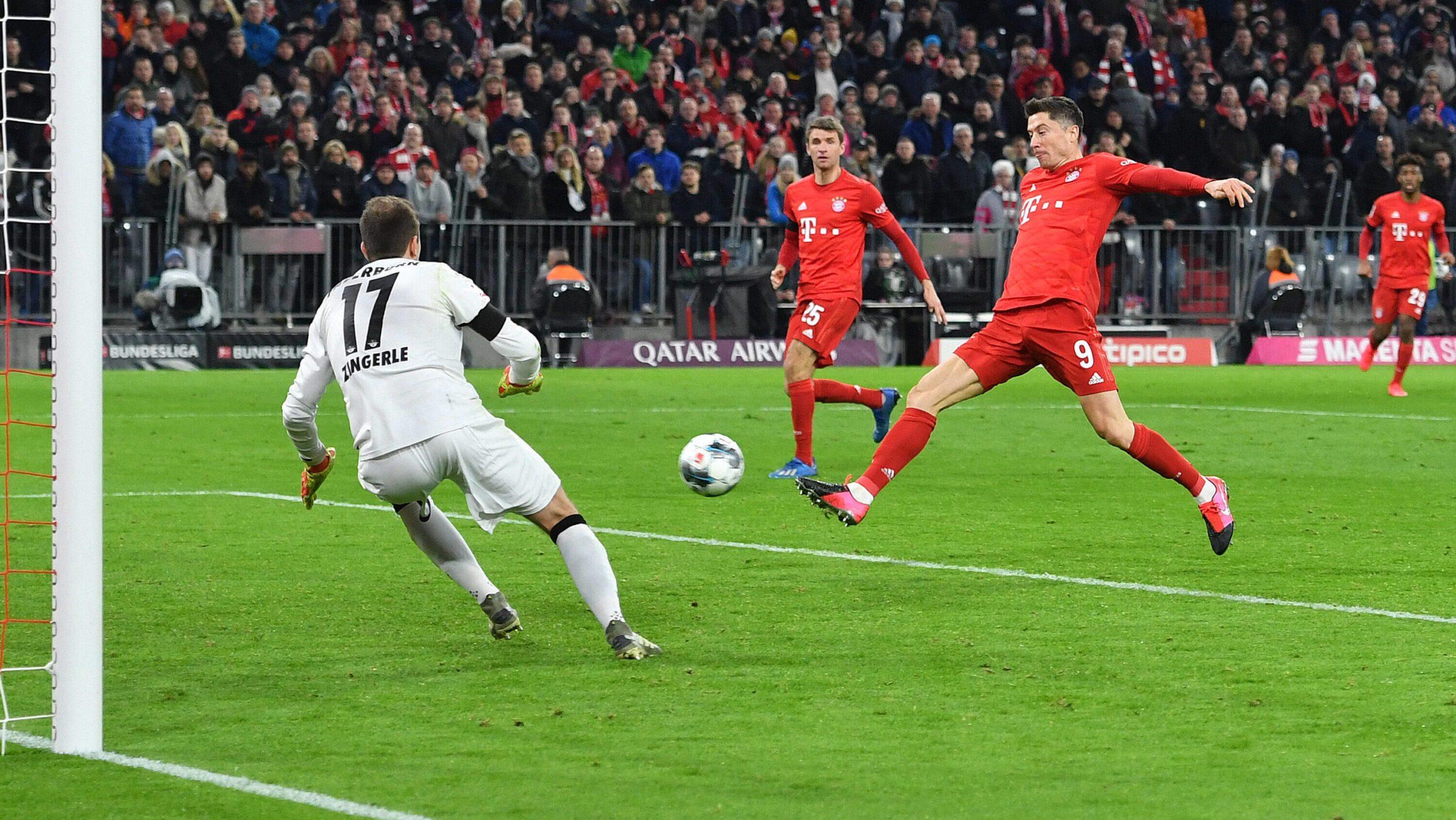 Zweimal Lewandowski: Bayern ringt Paderborn nieder