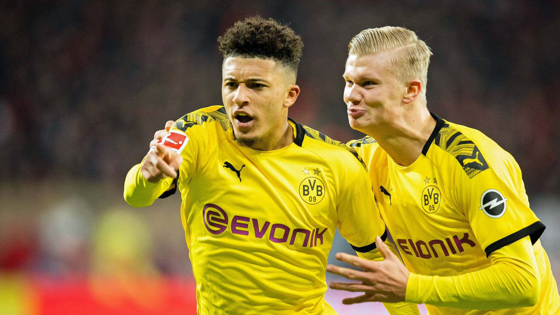 Bundesliga Jadon Sancho It S A Great Feeling To Play With Erling Haaland