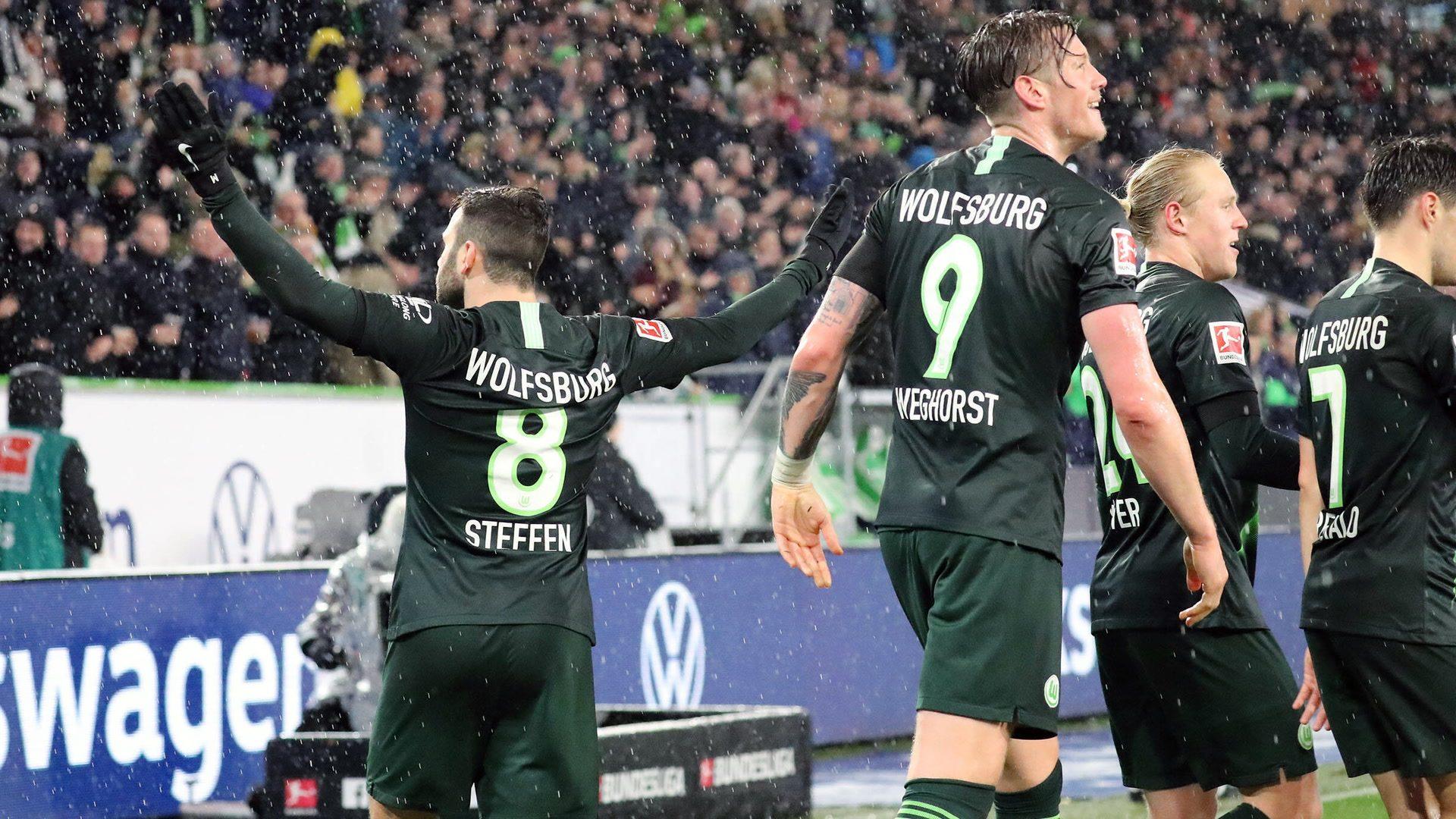 Bundesliga   Renato Steffen hits a brace as clinical Wolfsburg overpower  Mainz