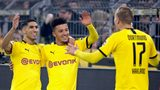 Sancho and Haaland among the goals as Dortmund thrash Frankfurt