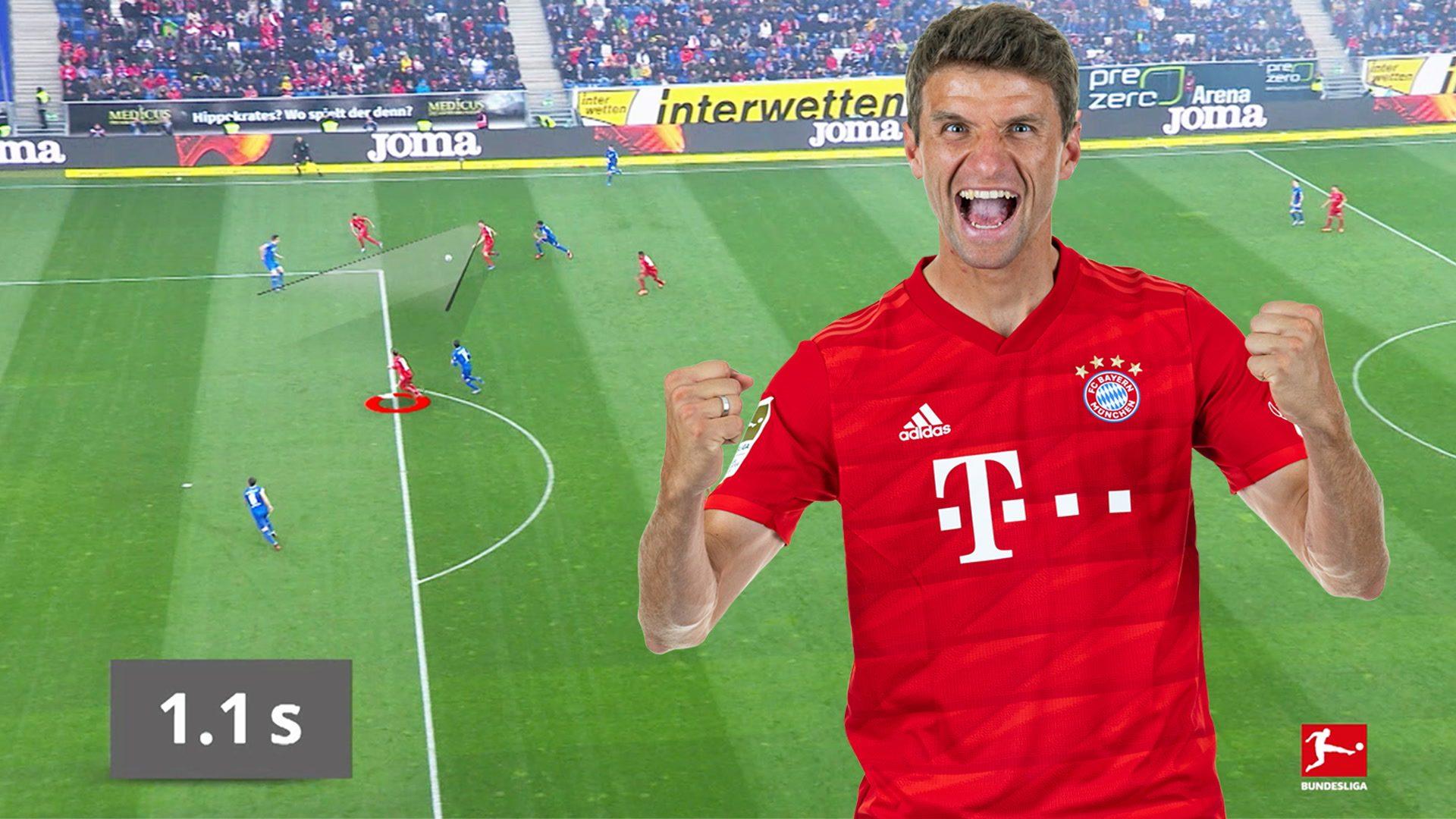 Bundesliga Neuer Rekord Thomas Muller Ist Der Assist Konig