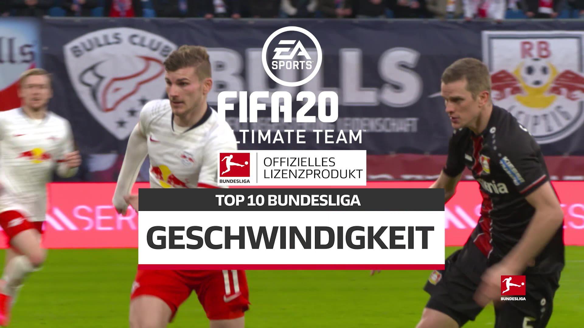 FIFA 20 Ultimate Team: Die 10 schnellsten Spieler