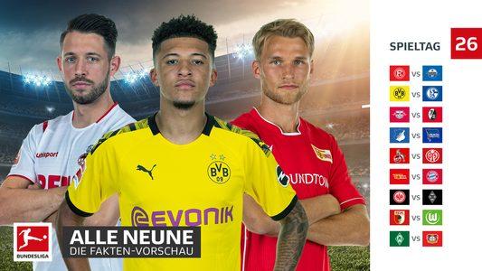 26 Spieltag Bundesliga