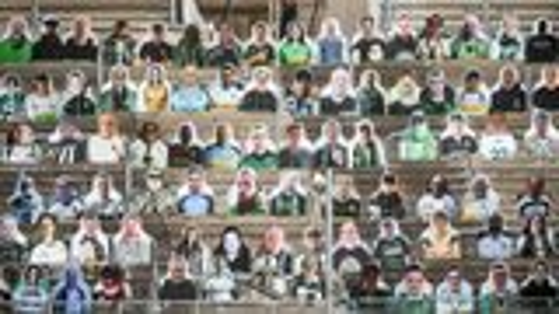 Gladbach fans donate cardboard cut-outs to fill Borussia-Park