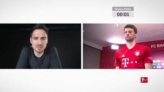 """Müller und Hummels mit Onlineversion der """"ThoMats""""-Challenge"""