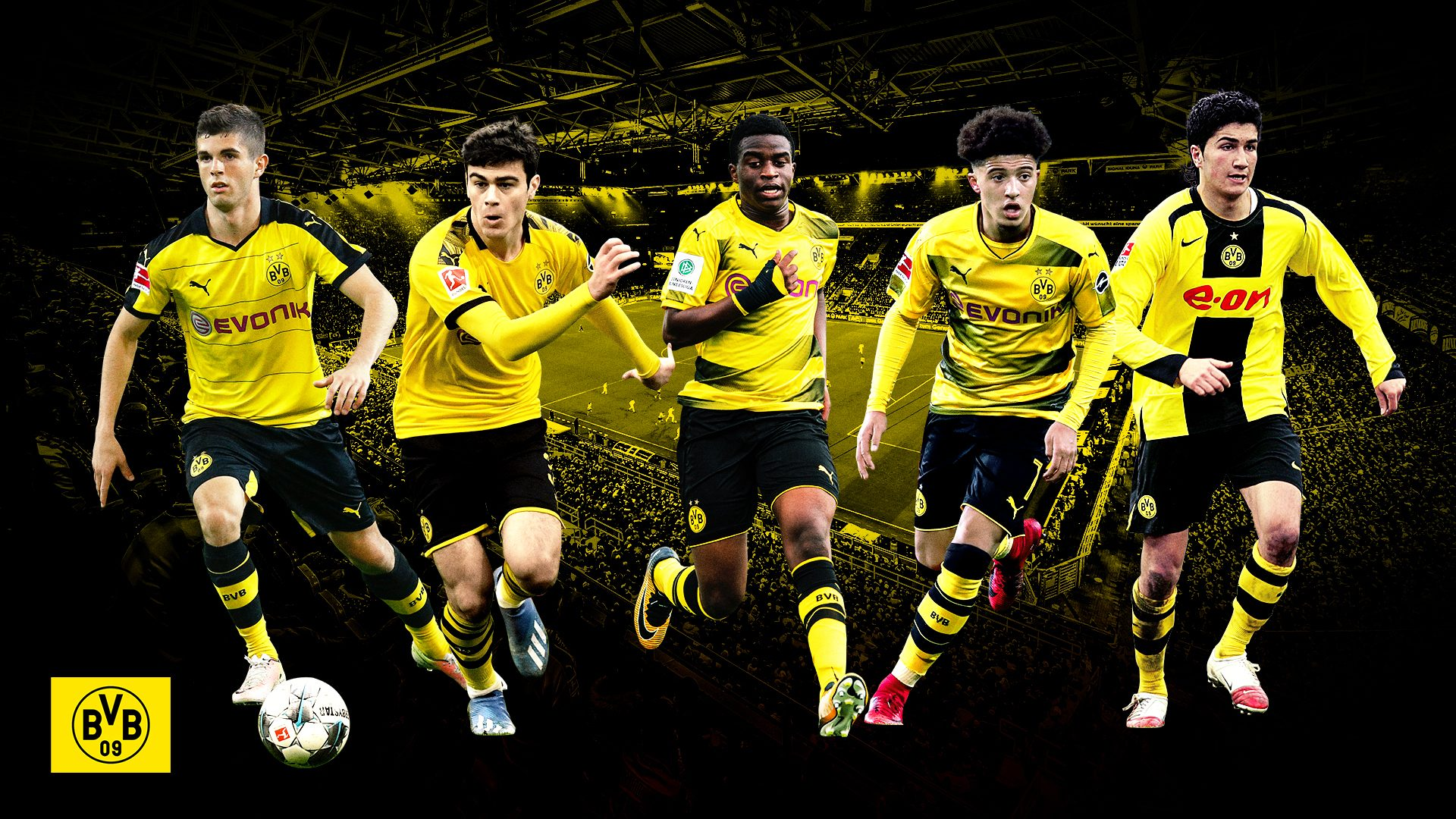 Bundesliga Borussia Dortmund S 10 Youngest Debutants Sahin Reyna And One Day Moukoko