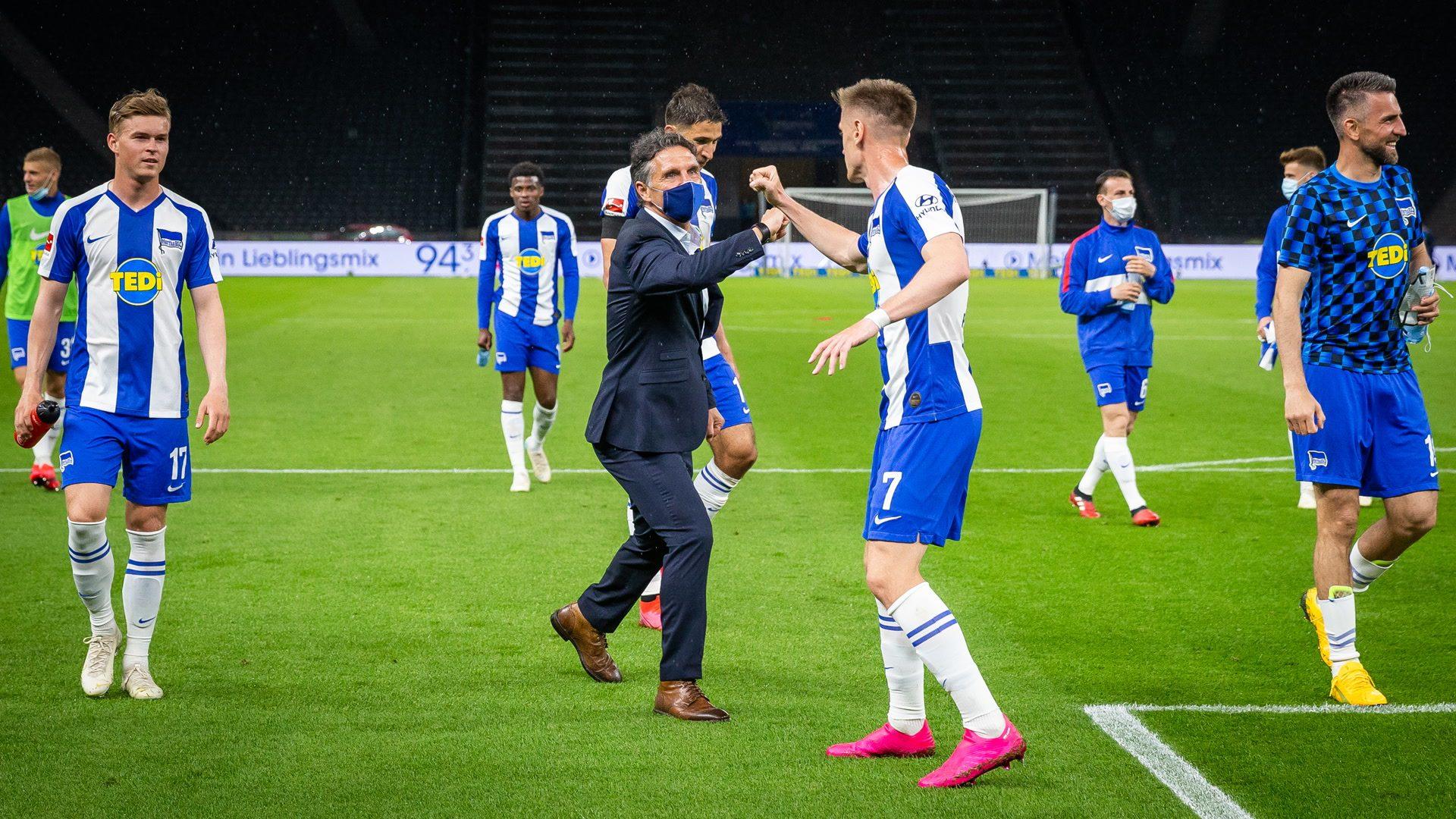 Ungeschlagen: Labbadias Traumstart bei Hertha BSC
