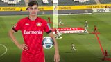 Leverkusens Kai Havertz in der Taktik-Analyse