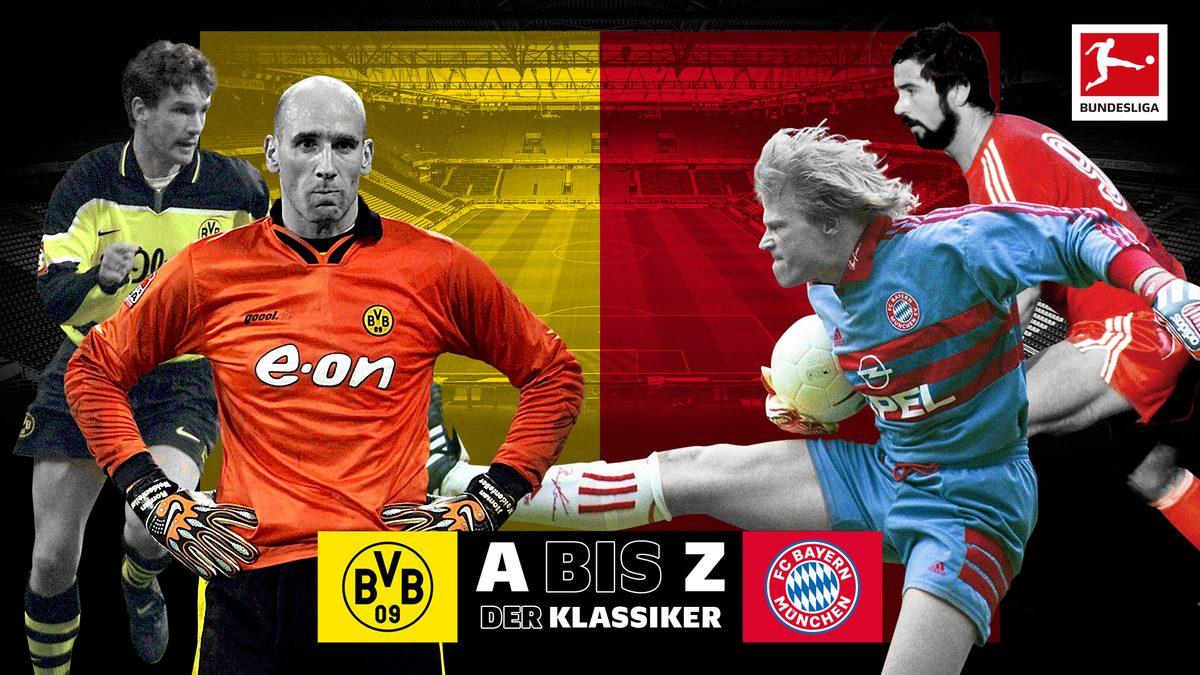 Klassiker von A bis Z: Alles zu Dortmund gegen Bayern