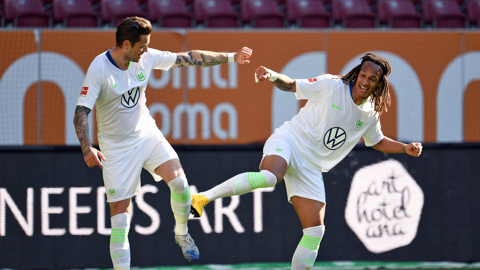 Bundesliga   Daniel Ginczek strikes late as Wolfsburg down Augsburg