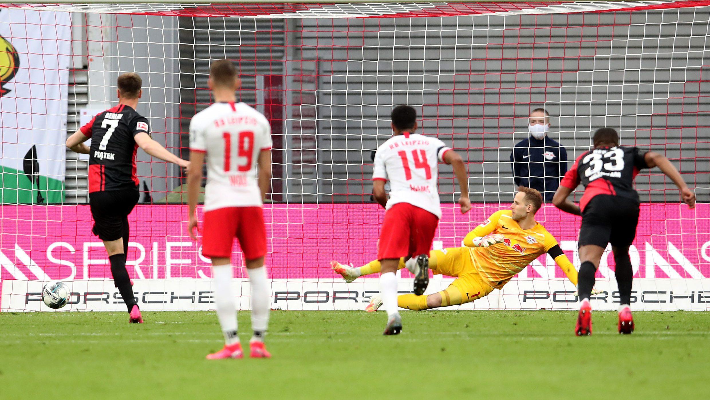 Piatek spot on as Hertha draw at Leipzig