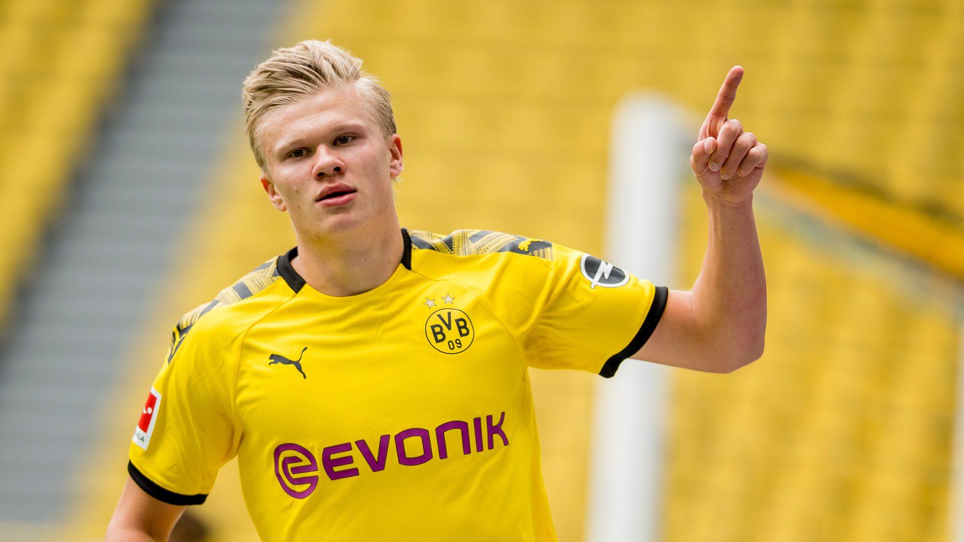 Bundesliga Borussia Dortmund S Erling Haaland I M Not Surprised I Scored Against Schalke