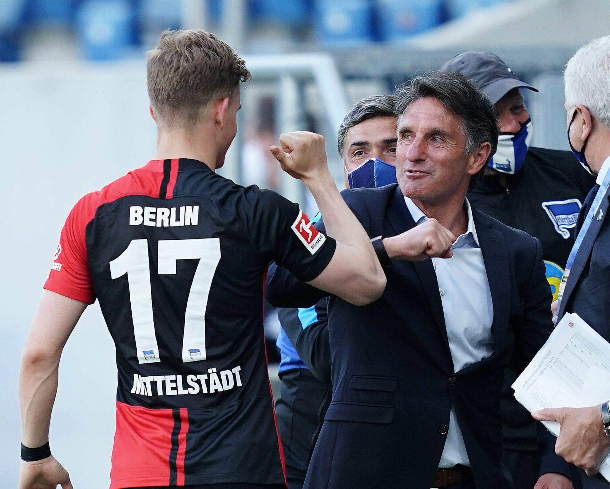 "Bundesliga   Maximilian Mittelstädt: Hertha Berlin ""fighting for one  another"" under Bruno Labbadia"