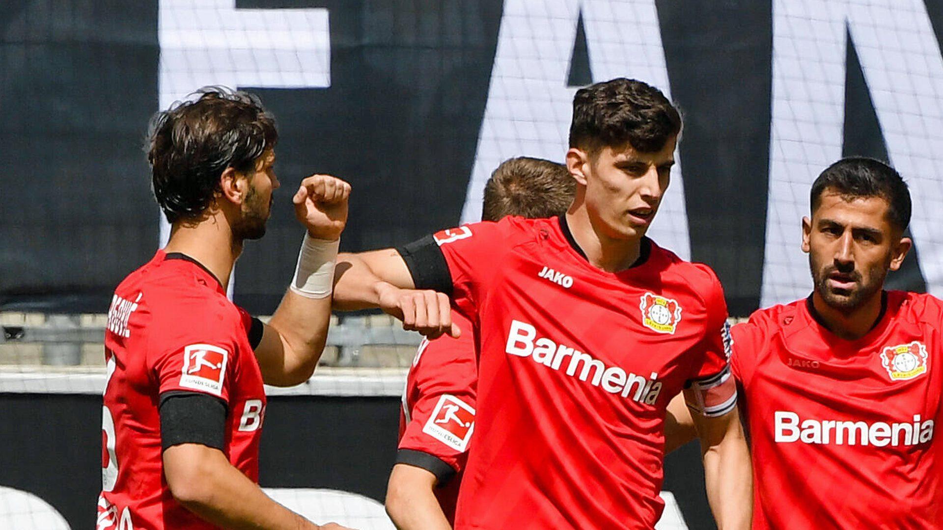 Havertz brace as Leverkusen beat Gladbach