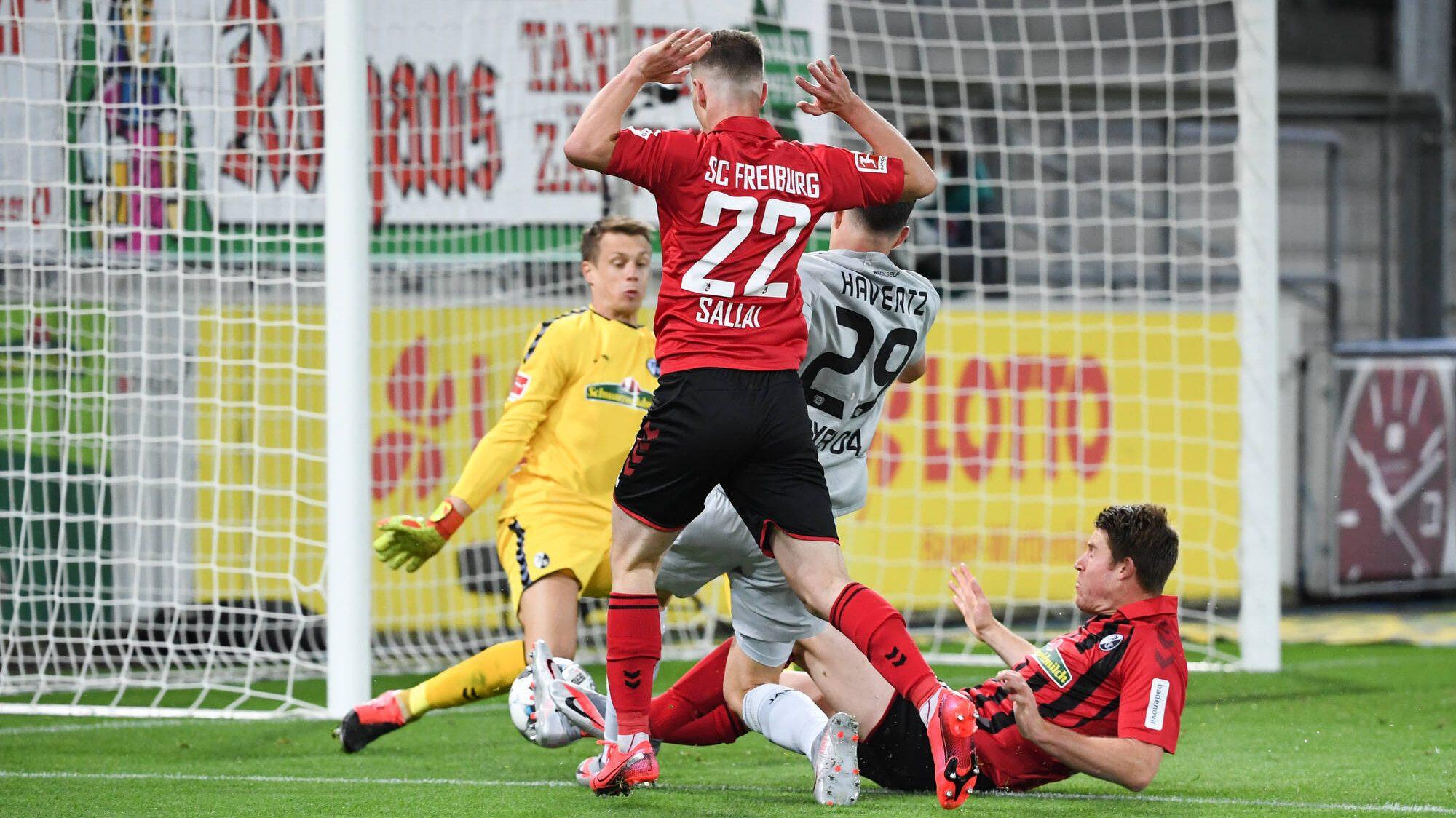 1:0! Leverkusen mit einem Arbeitssieg beim SC Freiburg
