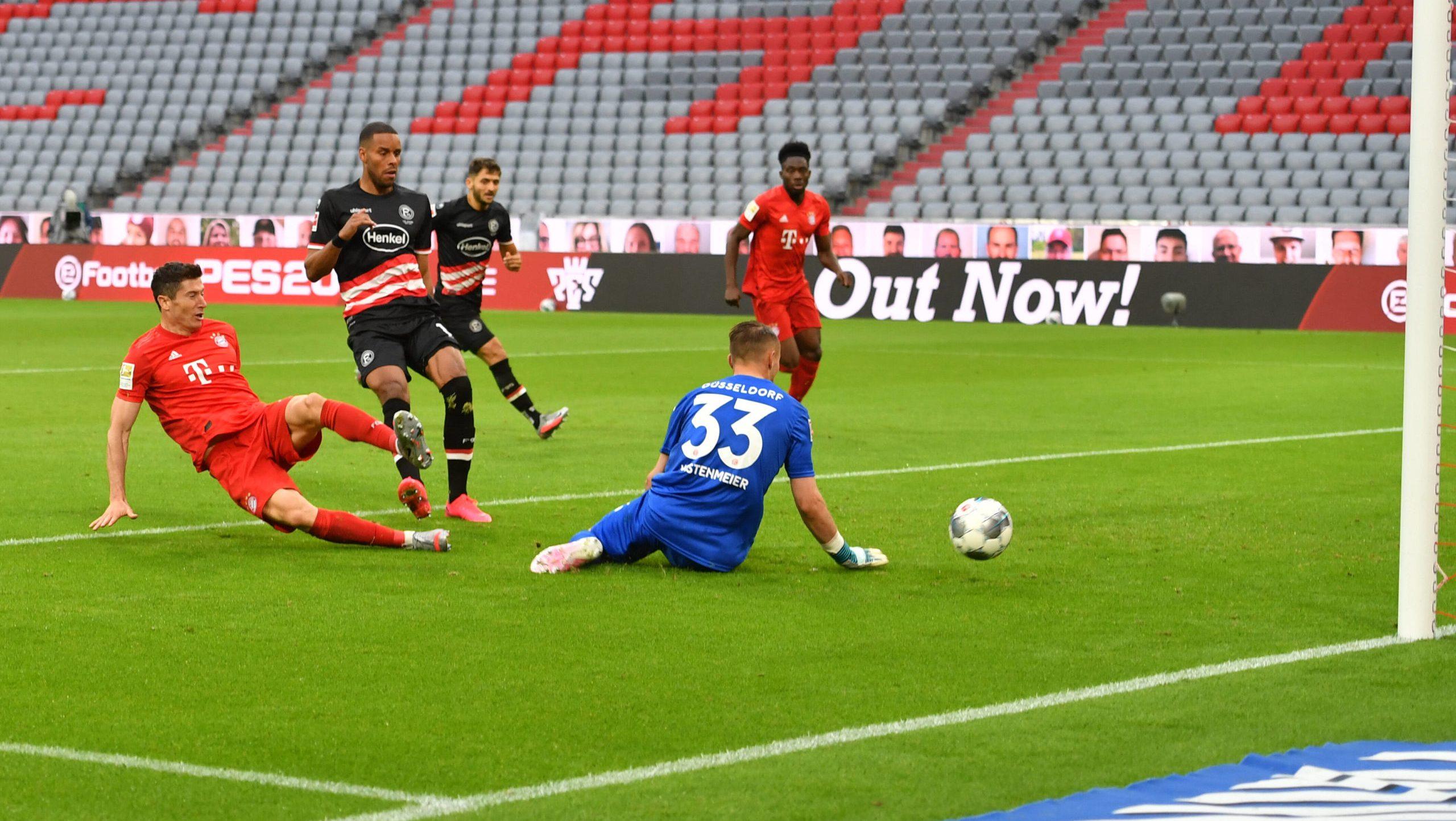 5:0 - Bayern lässt Düsseldorf keine Chance