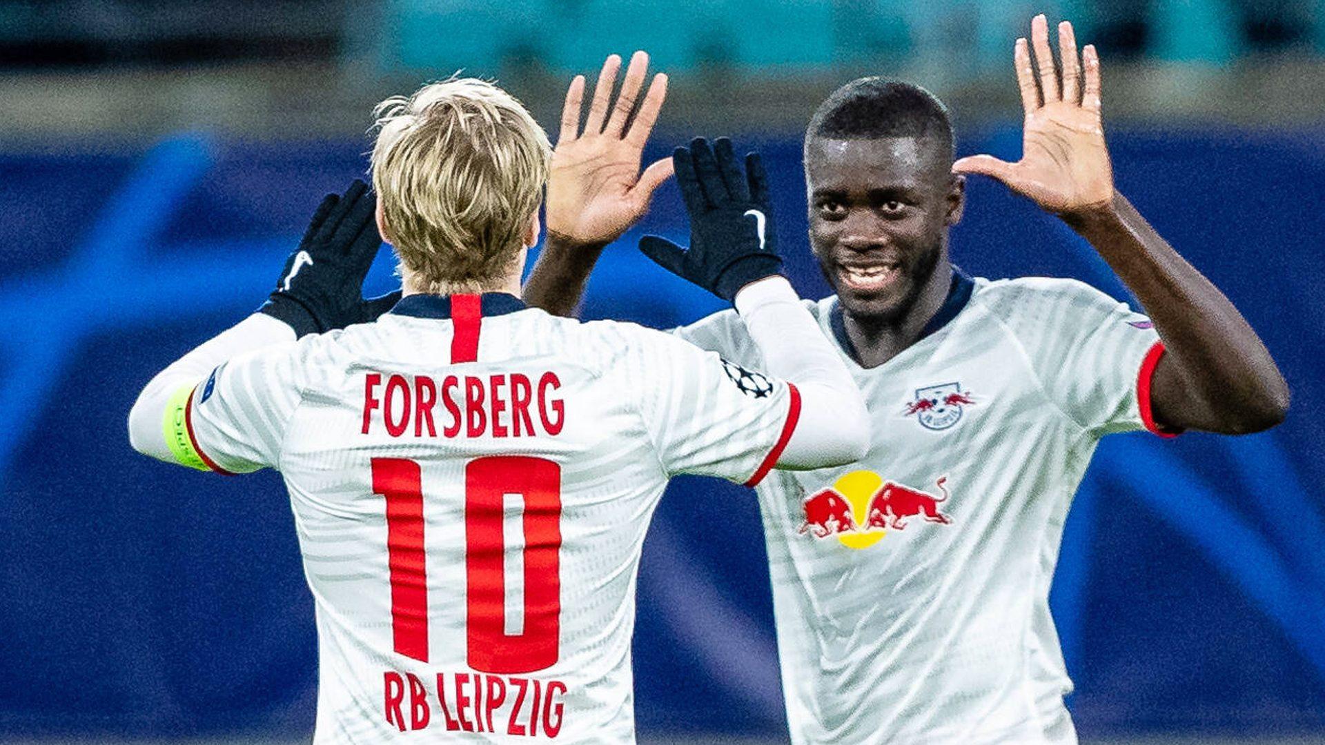 Bundesliga No One Gets Past Dayot Upamecano Not Even Me Rb Leipzig S Emil Forsberg