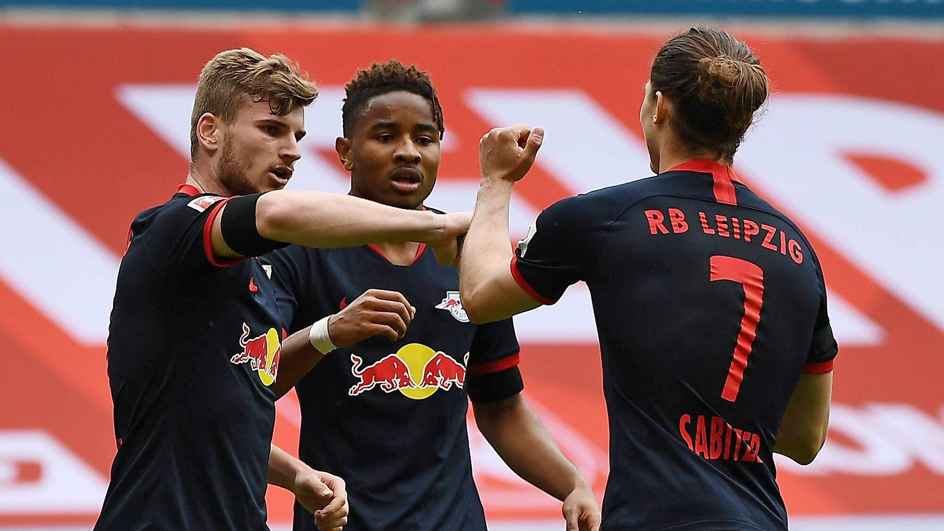 Werner hat-trick as Leipzig sink Mainz