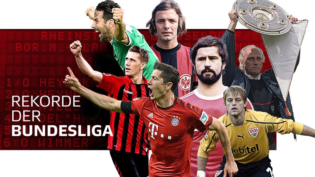 Bundesliga Die Rekorde Der Bundesliga Historische Bestmarken