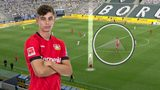 Is Kai Havertz a better striker than midfielder?