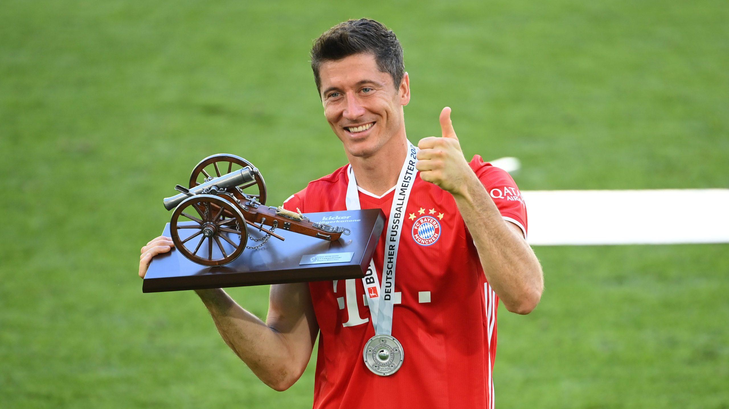 Torschützenkönig Lewandowski krönt Rekord-Saison
